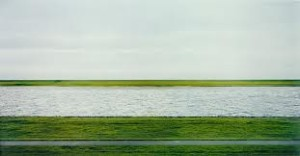 Cover designs inspired by art: Wally Lambs We Are Water and Rhein II by Andreas Gursky